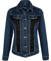 Džínová bunda Paola dark blue