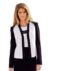 Jersey sako AMY VERMONT černá/vlněná bílá