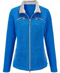Flaušová bunda AMY VERMONT ocel.modrá