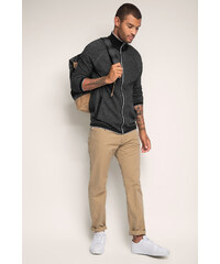 Esprit Cardigan zippé en fine maille, 100 % coton