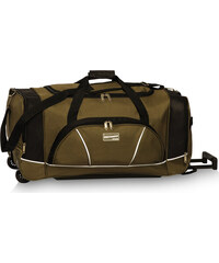 Southwest Cestovní taška na kolečkách 30264-2601 zeleno-černá