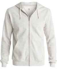 DC Shoes Sweat-shirt Sweat Capuche Rebel Zh 3 Light Heather Grey -