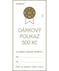 Dárkové poukazy Dárkový poukaz - 500 Kč