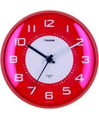 TWINS Nástěnné hodiny Twins 031 red