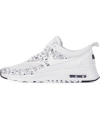Sneakers - tenisky Nike Air Max Thea Print WHITE/WHITE-BLACK