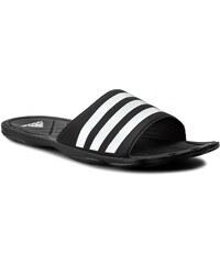 Nazouváky adidas - Adipure FC AQ3936 Cblack/Ftwwht/Clegre