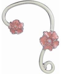 Lesara Fluoreszierender Ear-Cuff - Blumen
