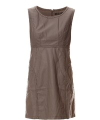 Cosmopolite Kleid mit kurzem Schnitt - grau