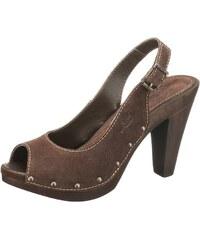 Semišové letní sandálky LEVI´S 36 hnědá