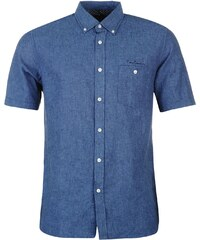 Pierre Cardin Košile Short Sleeve - modrá