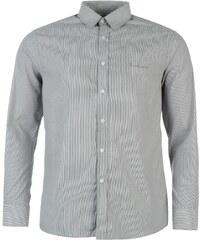 Pierre Cardin Košile Long Sleeve - proužkovaná šedá