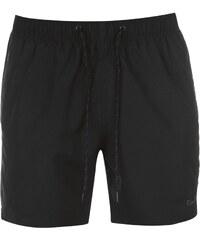 Pierre Cardin Plavecké šortky Plain - černá