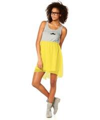 Dívčí šaty AJC, šaty pro mladé 38 šedá