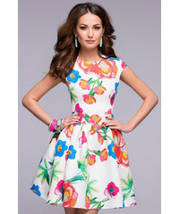 1001šaty šaty Aria s potiskem