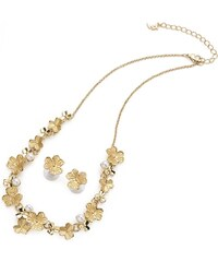 Kaytie Wu Souprava náhrdelník a náušnice zlatá