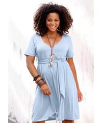 Casual Colours Letní šaty (vel.44 skladem) 44 modrá kouřová Dopravné zdarma!
