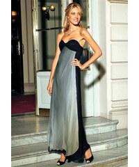 Laura Scott šaty prodloužená velikost černo-šedá 72 (36)