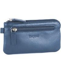 Bugatti Kožená klíčenka SEMPRE 49118105 modrá