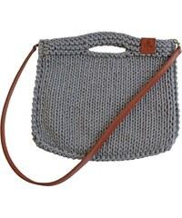 Catness Design s.r.o. Originální kabelka s popruhem 116 šedá