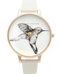 OLIVIA BURTON HUMMINGBIRD MINK AND ROSE GOLD