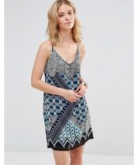 Style London - Robe débardeur à imprimé kaléidoscope - Multi