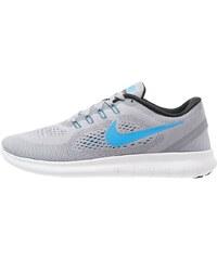 Nike Performance FREE RUN Laufschuh Natural running blue glow/black/cool grey/offwhite