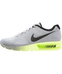 Nike Performance AIR MAX SEQUENT Laufschuh Neutral wolf grey/black/volt