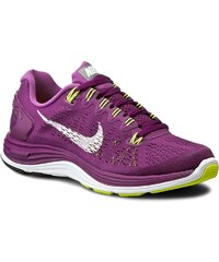 Boty NIKE - Lunarglide+ 5 599395 501 Bright Grape/White-Vlt/Shd-Vlt