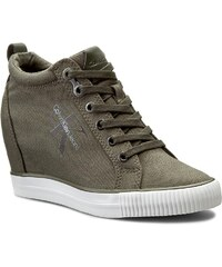 Sneakersy CALVIN KLEIN JEANS - Ritzy R3551 Military