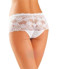Gabidar Bavlněné kalhotky brazilky 99 bílé - bílá S