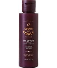 Coeur de Cigale Gel douche pour le corps et les cheveux 100 ml - violet