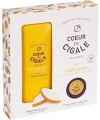Coeur de Cigale Pack beauté crème mains & ongles et baume pour les lèvres - blanc