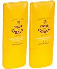 Coeur de Cigale Duo crème mains et ongles 50 ml - jaune