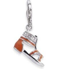 Unique Jewelry Silber Charm mit Karabiner für Bettelarmbänder CH0439