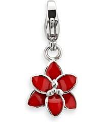 Unique Jewelry Günstiger Edelstahl Charm Blume zum Einhängen CS0020