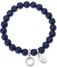 Unique Jewelry Charm Armband mit Perlen dehnbar 15,5 bis 19,5cm CB0027