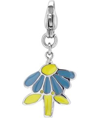 Unique Jewelry Charm aus Edelstahl in Blumenform CS0084