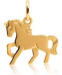 Unique Jewelry Anhänger Kinder 333er Gold Pferdemotiv KP0028SL