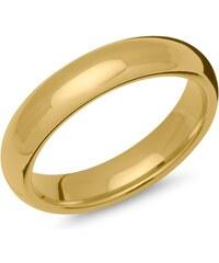 Unique Jewelry Ring Edelstahl gelbvergoldet 5mm breit R9205SL