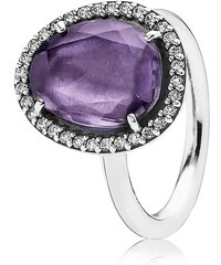 Pandora 925 Silber Ring 190893AM Amethyst