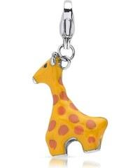 Unique Jewelry Hochwertiger Anhänger aus Edelstahl Giraffe CS0110