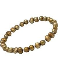 Unique Jewelry Feines Damenarmband aus echten Süßwasserperlen PB0017