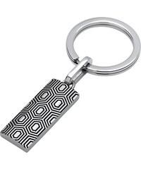 Unique Jewelry Eleganter Schlüsselanhänger aus Edelstahl AS0025SL