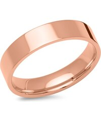Unique Jewelry Rosévergoldeter Herrenring 5mm breit poliert R9220SL