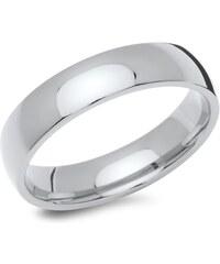 Unique Jewelry Hochwertiger Ring aus poliertem Edelstahl R9221SL