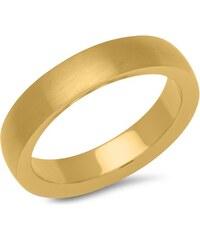 Unique Jewelry Vergoldeter Ring aus Edelstahl 4,9 mm breit R9238