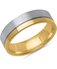 Vivo Herrenring 925er Silber teilvergoldet R8575