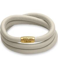Glänzendes Armband Endless creme gold 1055 (triple)