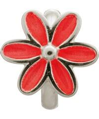 Red Enamel Flower Silver Charm Endless Sterling 41155-3