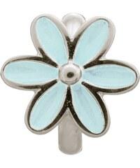 Light Blue Enamel Flower Silver Charm Endless 41155-5